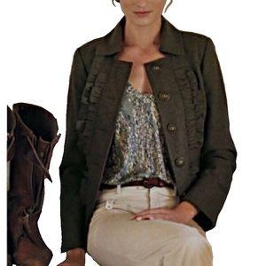 Anthropologie Tabitha Oxer Military Jacket NWT